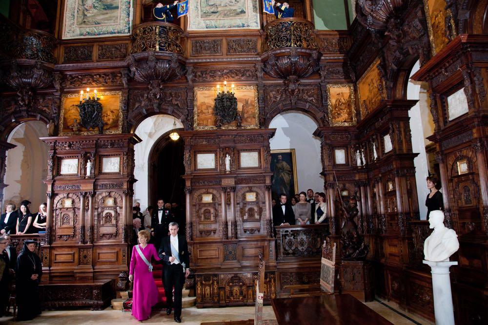 Castelul Peleș și aniversarea Majestății Sale Margareta Custodele Coroanei