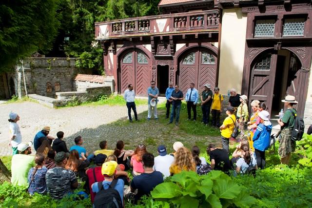 Lansare Galeria Arhitecților și ateliere de peisagistică pe Domeniul Regal Peleș