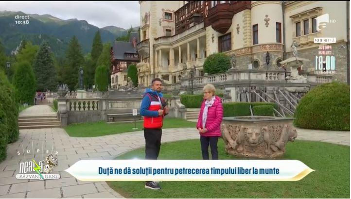 """Poveștile neștiute ale Domeniului Regal din Sinaia, cu Daniela Voitescu la """"Neatza cu Răzvan și Dani"""" – Antena 1"""